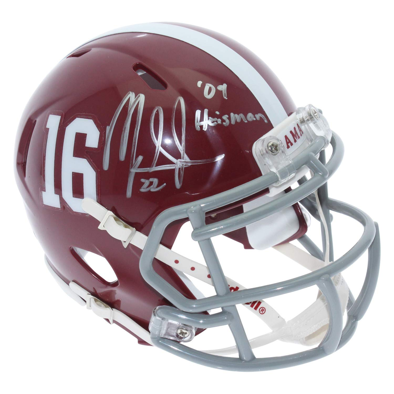 Mark Ingram Autographed Signed Alabama Crimson Tide Speed Mini Helmet - 09 Heisman Inscription - Certified Authentic