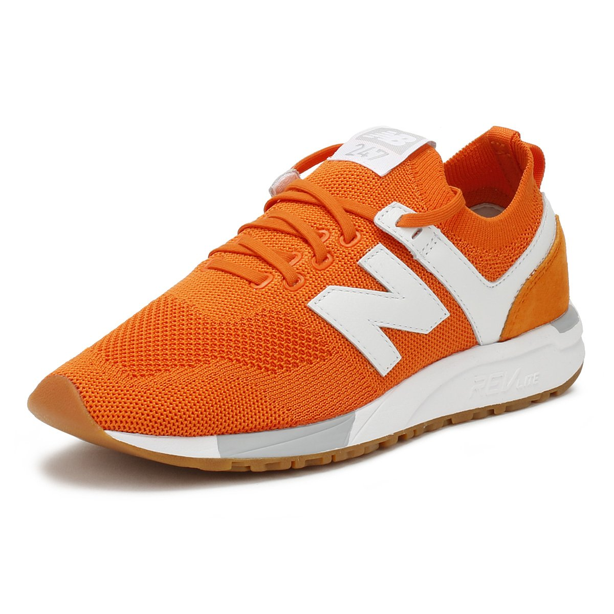 New Balance Men's 247 Mesh Trainers, Blue Motorcycle B0751VGFKP Motorcycle Blue & Combat c9c9ec