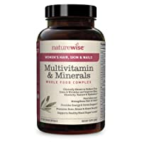 NatureWise Women's Multivitamin with Hair, Skin, & Nails Support – Total-Body Benefits...