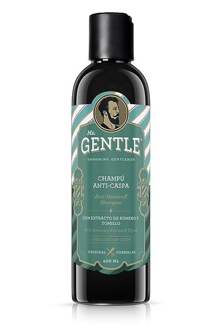 MR.GENTLE - Champú Anticaspa Hombre - Antigrasa ...