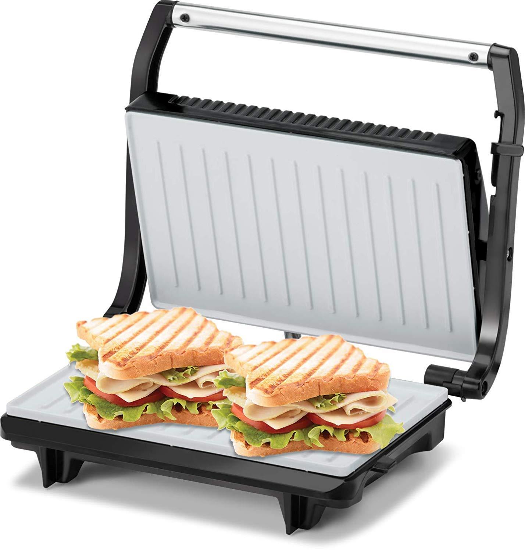 Buy Kent 16025 700 Watt Sandwich Grill Black Online At Low Prices In India Amazon In