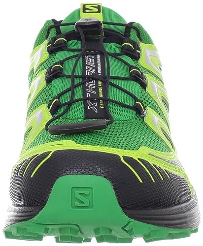 Salomon XT Hornet, Scarpe sportive, Uomo, Clover Green/Pop Green/Black, 40 2/3