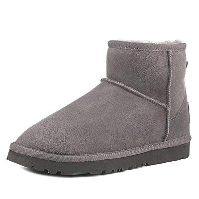 AUSLAND Women's Classic Short Sheepskin Snow Boot | Snow Boots