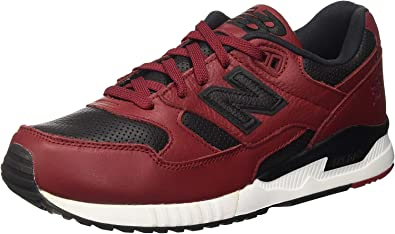 Agotamiento Elección Fácil de leer  Amazon.com | New Balance M530 Lux Leather Men's Rugby, Size | Fashion  Sneakers
