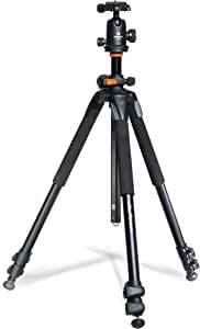 Vanguard Alta Pro 263AB 100 Aluminum Tripod with SBH-100 Ball Head for Sony, Nikon, Canon DSLR Cameras, Black