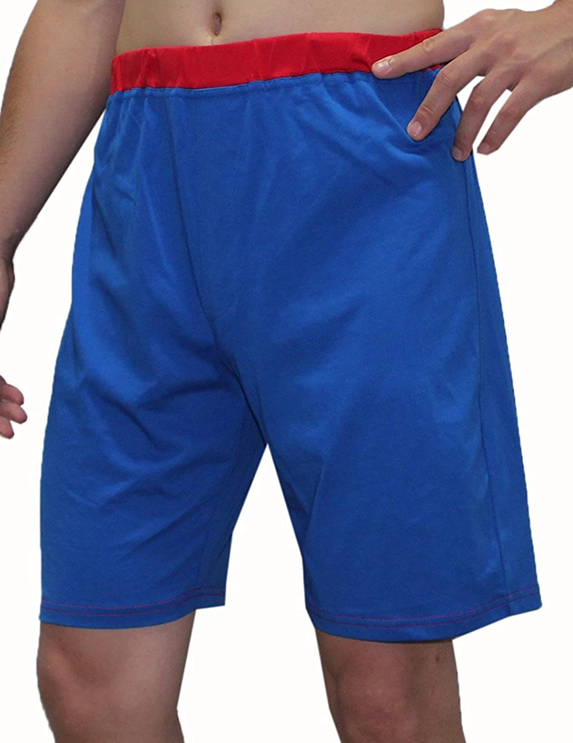 Mens DC COMICS SUPERMAN Cotton Lounge / Pajama Shorts