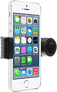 Blacell Portable Adjustable Car Air Vent Mount Holder 3.5'' - 6.3'' for Mobile Cell Phone iPhone 3 4 4S 5 5S 5C Samsung Galaxy Nokia HTC BlackBerry Choose Color (Black)