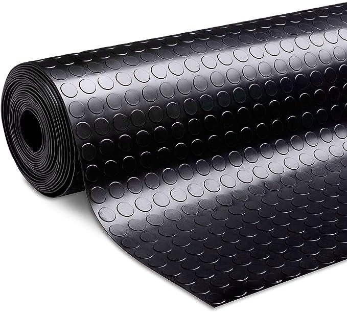 3 breiten Nopenmatte Gummimatte Schutzmatte Noppenmatte Bodenmatte mit Noppen Gummil/äufer 3mm stark 100 x 1000 cm