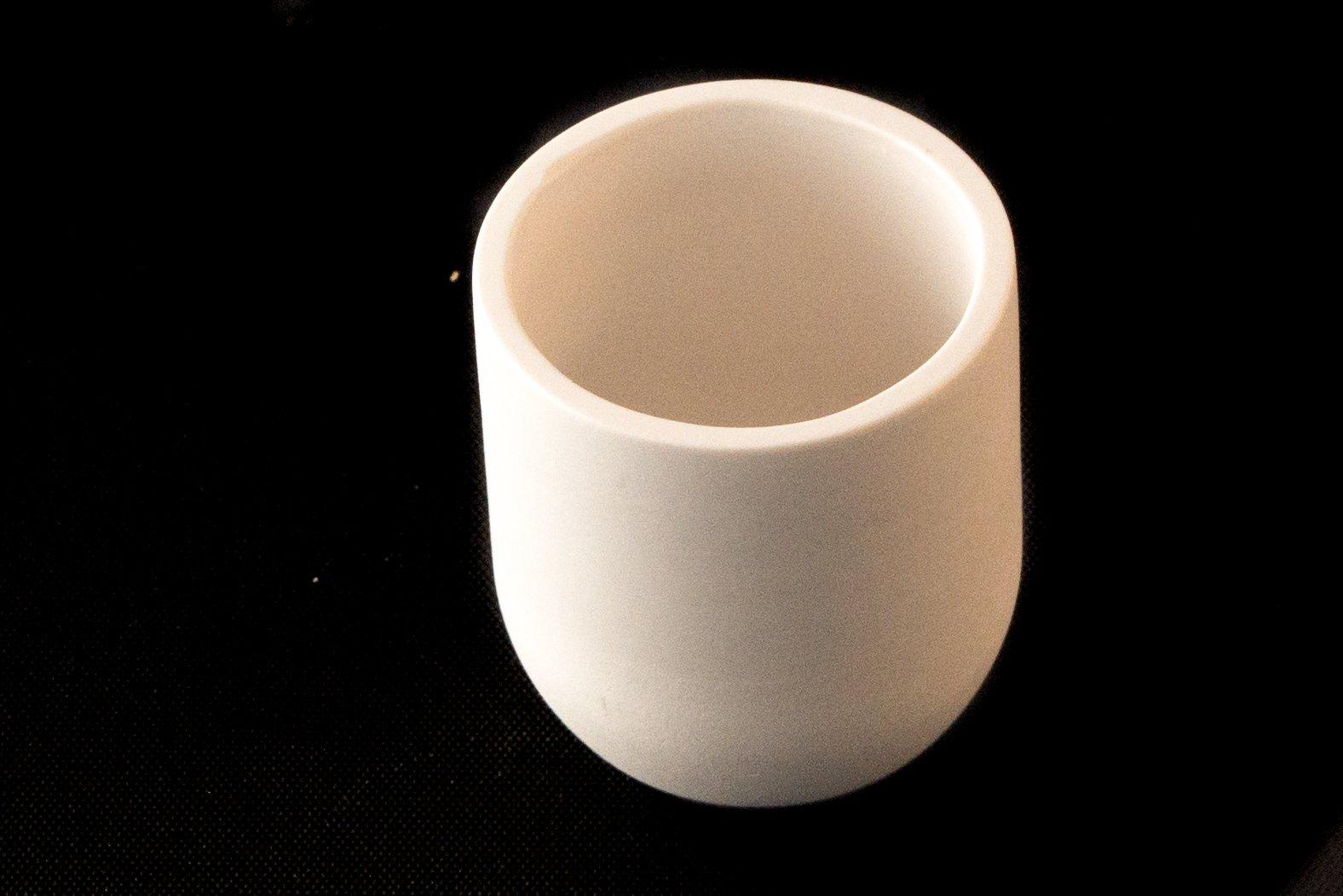 Zirconia Cylindrical Crucible 30ml