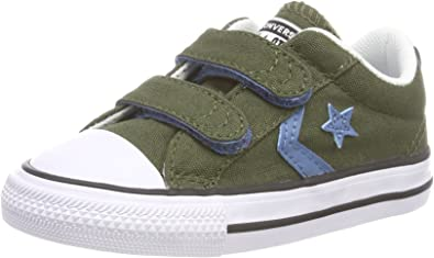 Chaussures bébé fille Converse Star Player 2v Ox Herbal