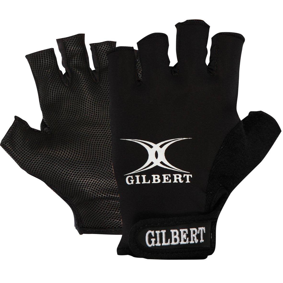 tama/ño S Gilbert Synergie Guantes de rugby para hombre