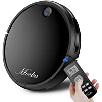 Mooka HA1116 Tangle-Free HEPA-Style Robotic Vacuum Cleaner (Black)