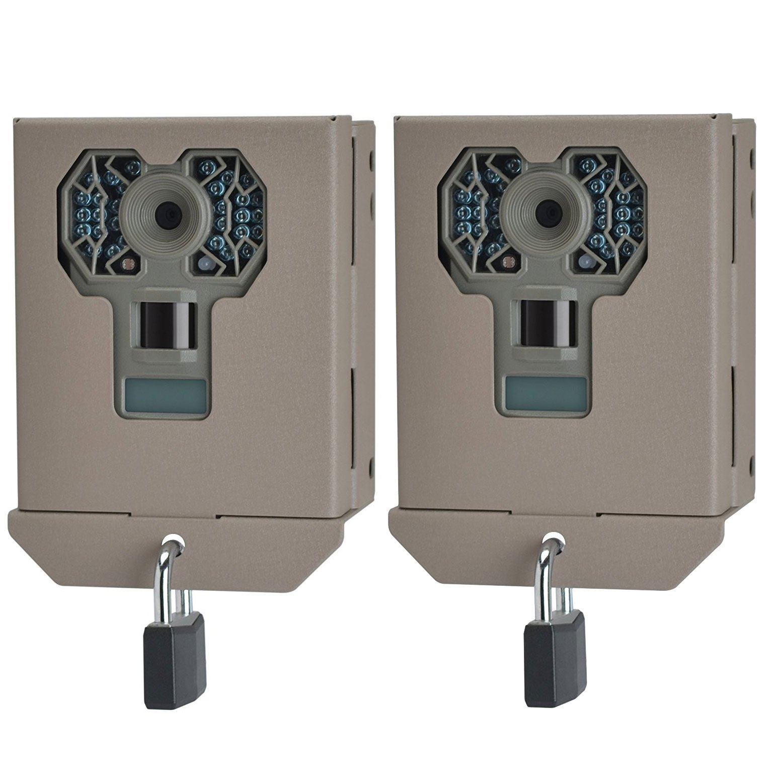 Stealth Cam Steel Security Trail Game Camera Bear Box for G Series Cams (2 Pack)