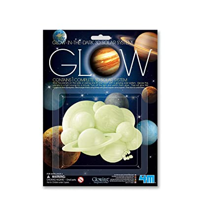 Great Gizmos Glow in The Dark 3D Solar: Toys & Games
