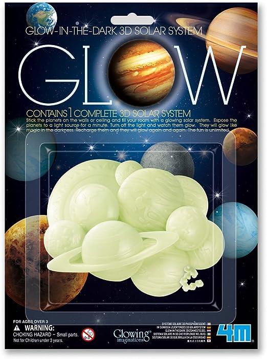 4M- Glow 3D Solar System Ciencia (00-05423): Amazon.es: Juguetes y ...