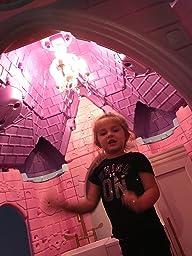 Ecr4kids Jumbo Princess Palace Playhouse Pink Amazon Com