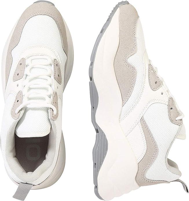 ONLY Zapatillas ONLSTORM Chunky Sneaker para Mujer Mujer Color: Beige Talla: 39: Amazon.es: Zapatos y complementos