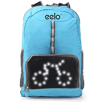35e6174535 eelo Cyglo - The Ultimate Outdoor Cycle Backpack for Full Visibility and  Awareness. Keeping the