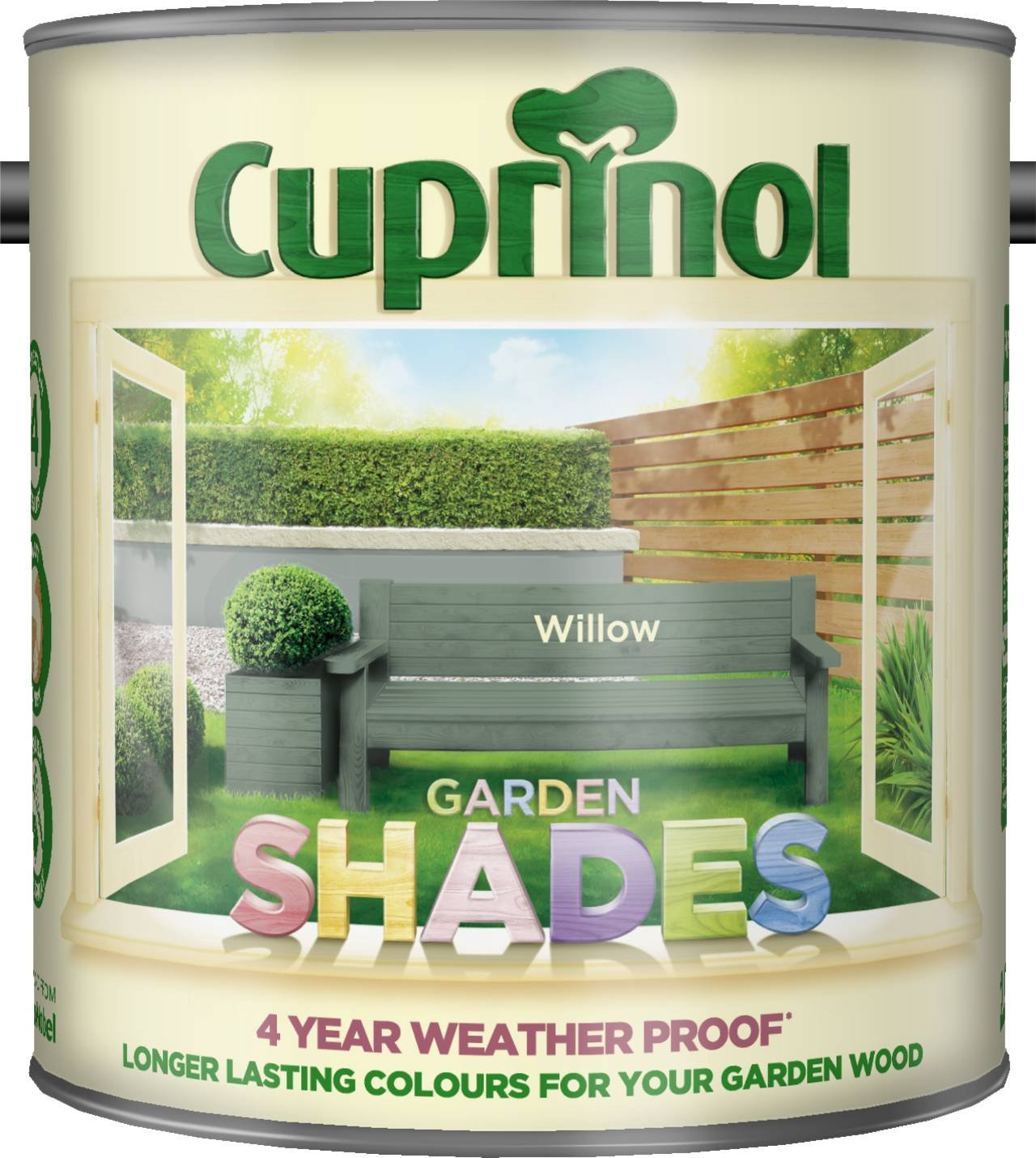 Cuprinol CUPGSHCC5L 5 Litre Garden Shades Paint - Country Cream ...