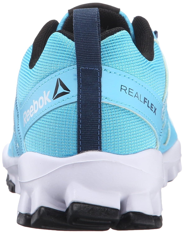 Reebok Women's Realflex Train 4.0 Cross-Trainer Shoe B01G3SFM1O 6 B(M) US|Crisp Blue/Noble Blue/White/Black