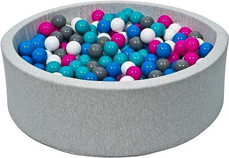Colori delle palline: bianco, blu, grigio piscina gioco bambino palle palline 300 piscina secca