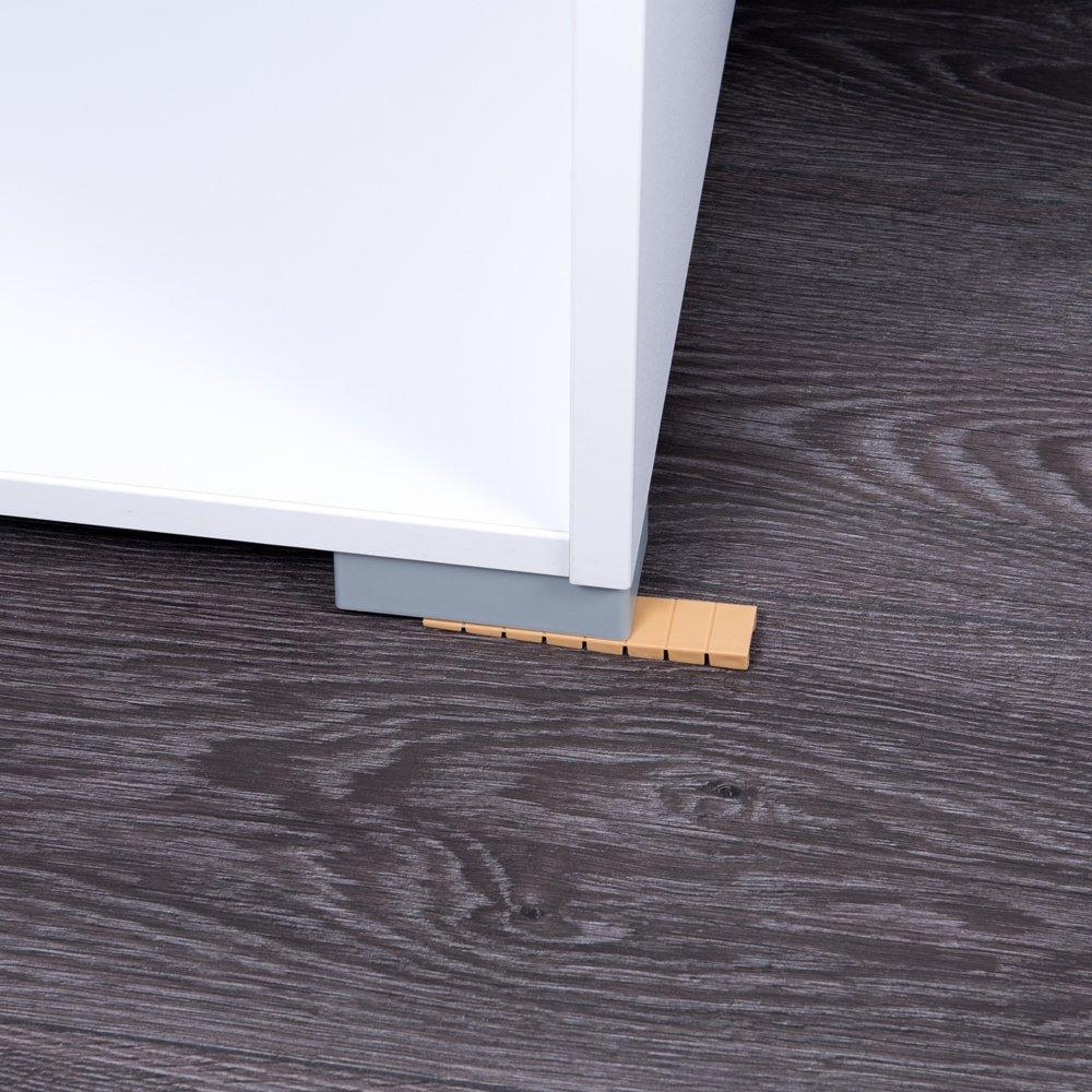 Cales pour meubles Color : beige Sossai/® MKB-100 // cales en plastique avec points de rupture pr/éd/étermin/és int/égr/és 25 pc.