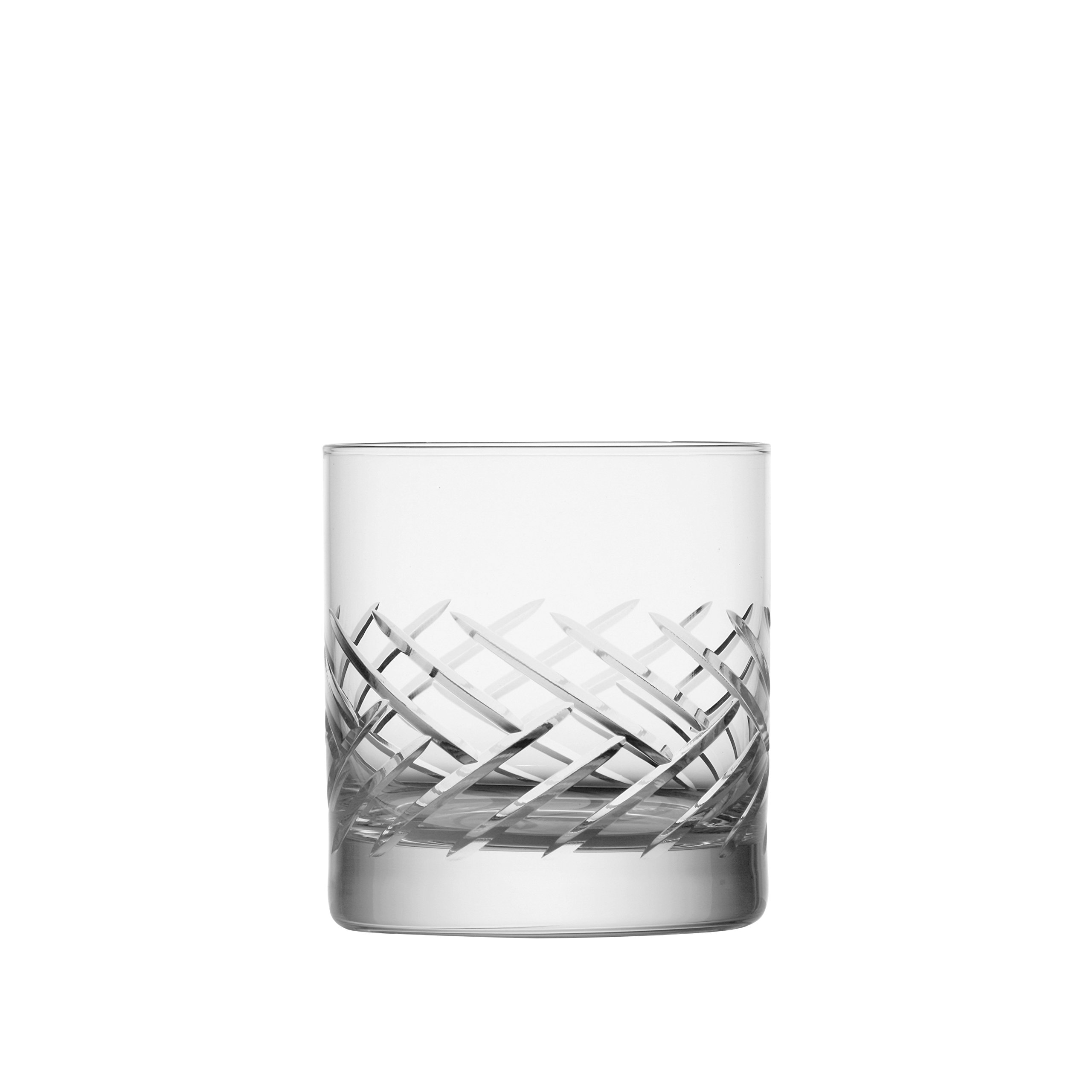 Schott Zwiesel Tritan Crystal Glass Distil Barware Collection Arran Old Fashioned Cocktail Glasses (Set of 6), 13.5 oz, Clear