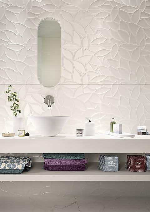 Marazzi Essen ziale Flora 3d 40 x 120 cm mmfp Gres Porcellanato ...