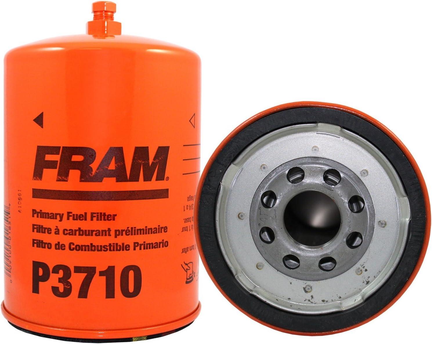 amazon.com: fram p3710 spin-on diesel fuel filter: automotive  amazon.com