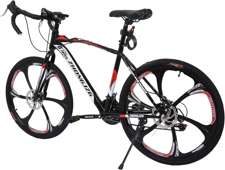 Details about  /26in 21-Speed Mountain Bike Mens//Womens Mountain Bike Road Bike