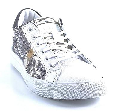D.A.T.E. Sneaker - Pyton - weiß, Farbe:weiß;Größe:40