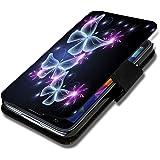 Book Style Flip Handy Tasche Case Schutz Hülle Schale Motiv Foto Etui für ZTE Blade L3 - X9 Design6