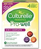 Culturelle Pro-Well 3-in-1 Complete Daily Formula, Once Per Day Dietary Supplement, Contains 100% Lactobacillus GG –The Most Clinically Studied Probiotic†, Plus Omega 3's, 30 Count