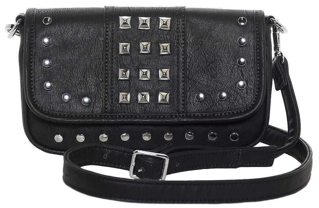 Amazon.com: Sourpuss – Cortina Aimee Embrague cartera: Shoes