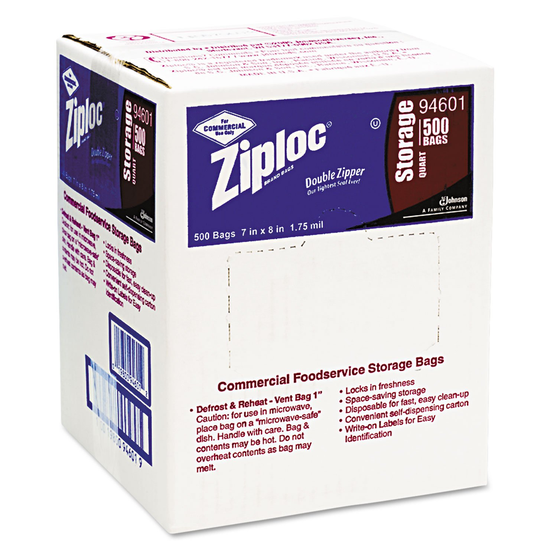 Amazon Com Ziploc Double Zipper Plastic Storage Bags 1