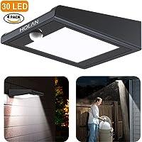 4-Pack Mulcolor Solar Motion Super 30-LED Sensor Light