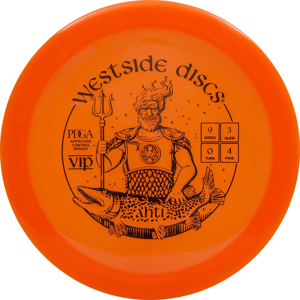 Westside Discs VIP Ahtiフェアウェイウッドドライバーゴルフディスク[ Colors May Vary ] B071GVS6PP 170-172g