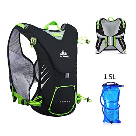 e15dcbe5a2d8 Amazon.com : AONIJIE Hydration Pack Backpack with 1.5L Water Bladder ...