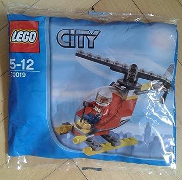 LEGO City: Fuego Helicóptero Establecer 30019 (Bolsas ...