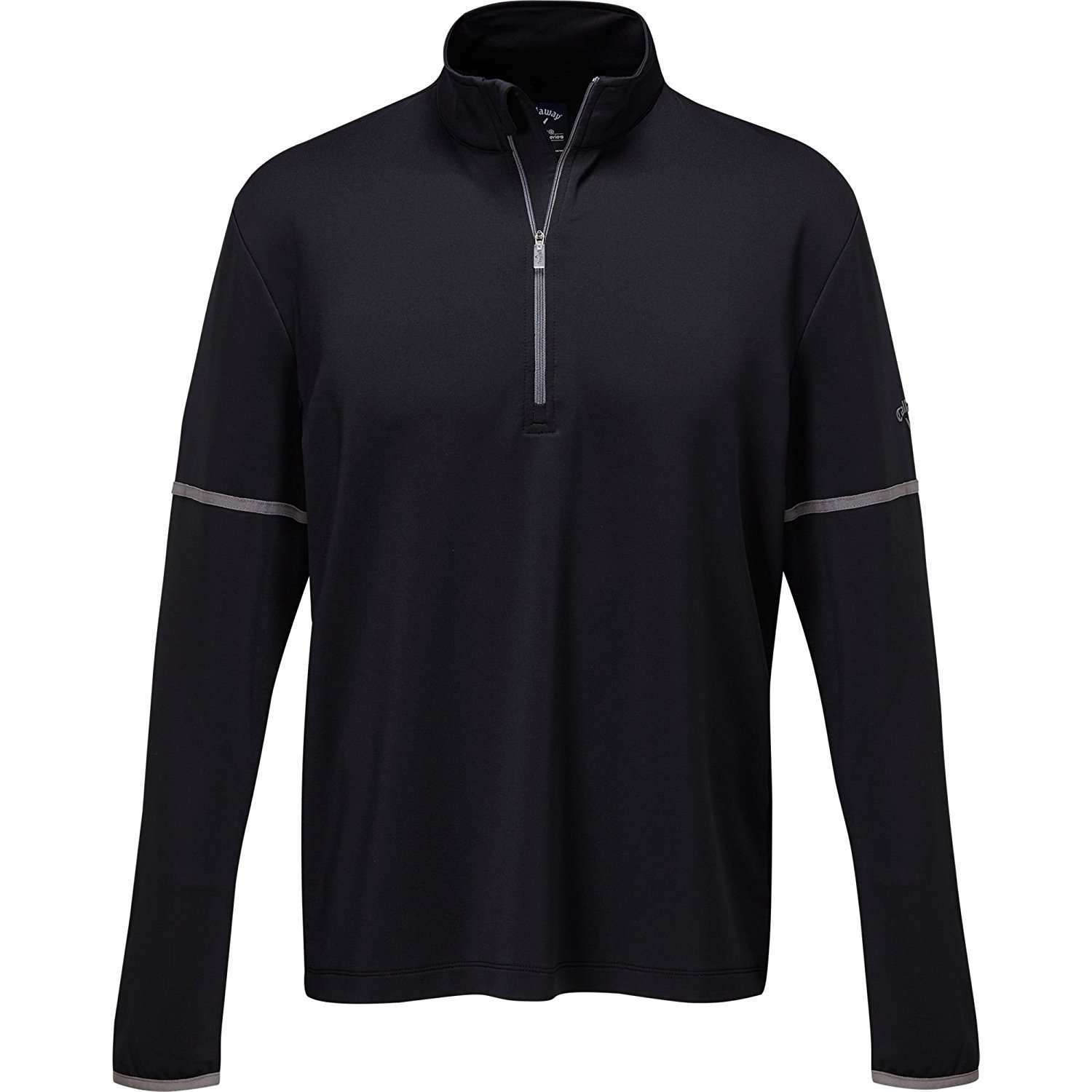Callaway Men's Outlast Premium 1/4-Zip Midlayer Long Sleeve, Caviar, XX-Large