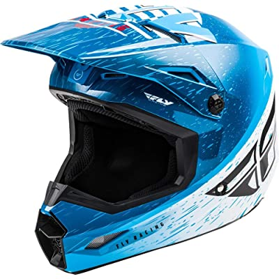 Fly Racing 2020 Kinetic Helmet - K120 (X-Small) (Blue/White/RED): Automotive