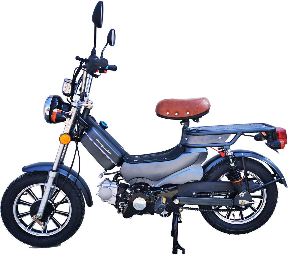 Generies 49cc Gas Powered Moped Scooter Bike