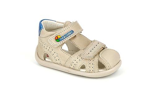 Zapatos blancos con velcro Pablosky infantiles UzeMptzD0Z