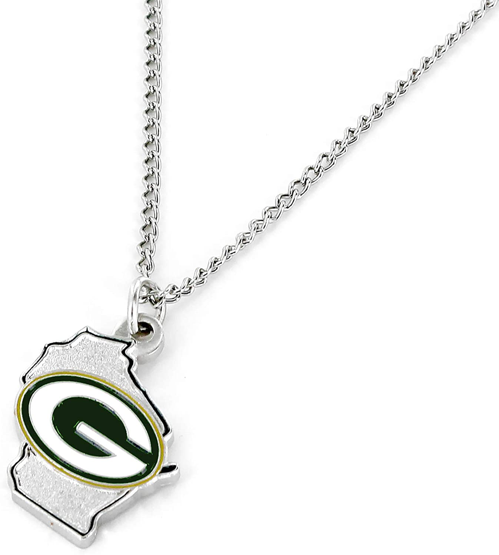 aminco NFL Atlanta Falcons Home State Necklace