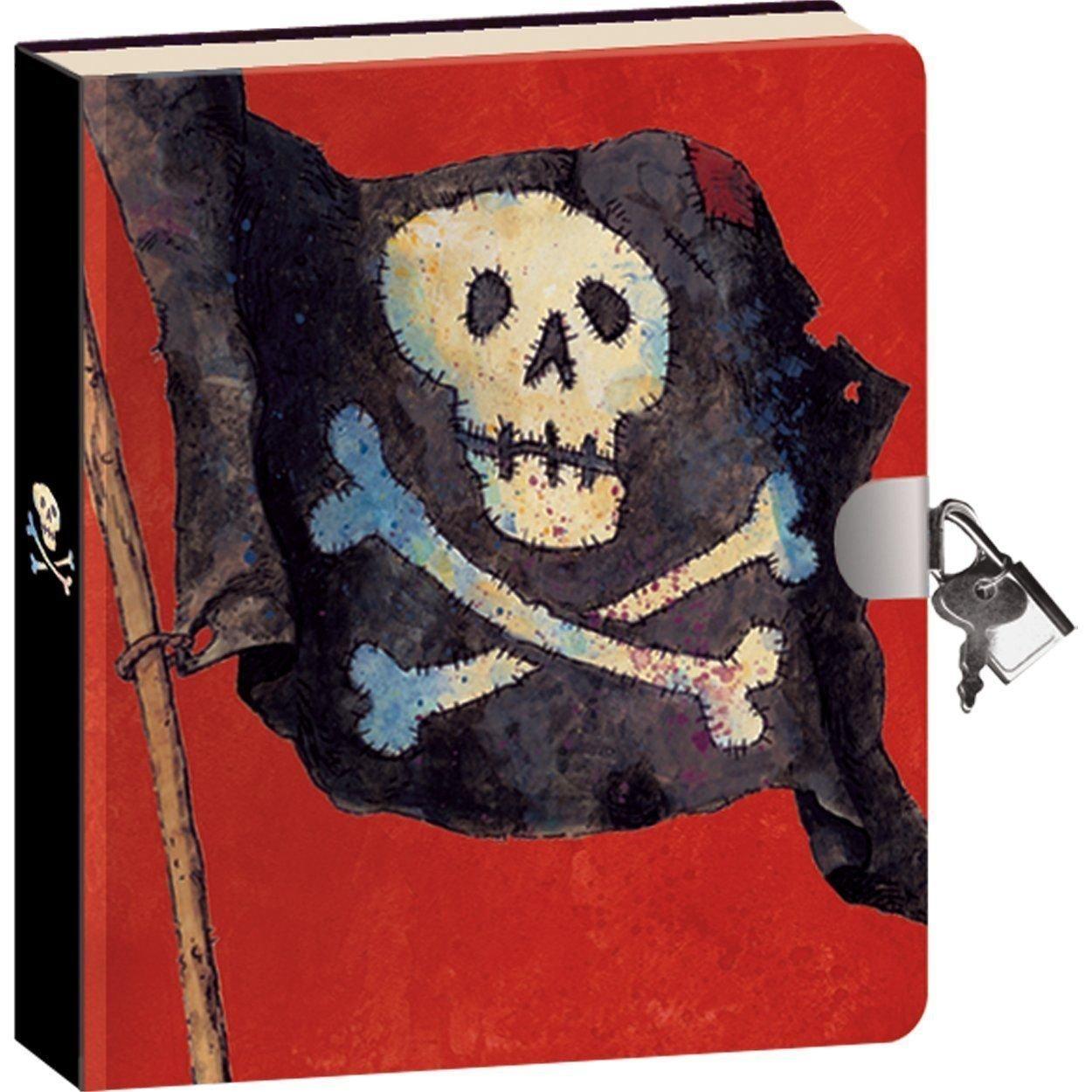 Peaceable Kingdom-Pirate-Lock and KeyDiary 4220