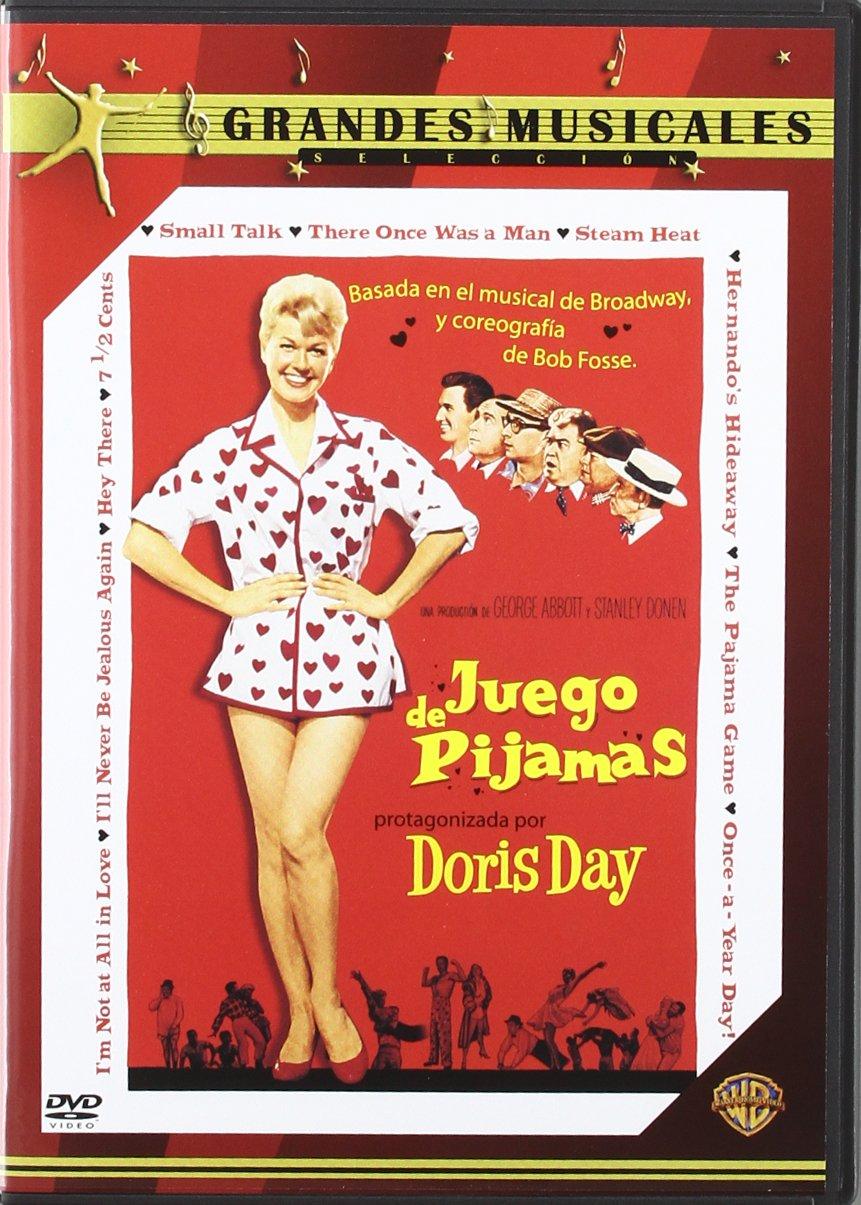 Juego De Pijamas [DVD]: Amazon.es: John Raitt, Carol Haney, Eddie Foy Jr., Reta Shaw, Barbara Nichols, Doris Day, Stanley Donen George Abbott: Cine y Series ...