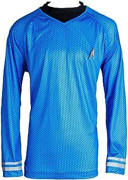 MingoTor Star Camisa Disfraz Traje de Cosplay Ropa Azul Hombre XL: Amazon.es: Juguetes y juegos