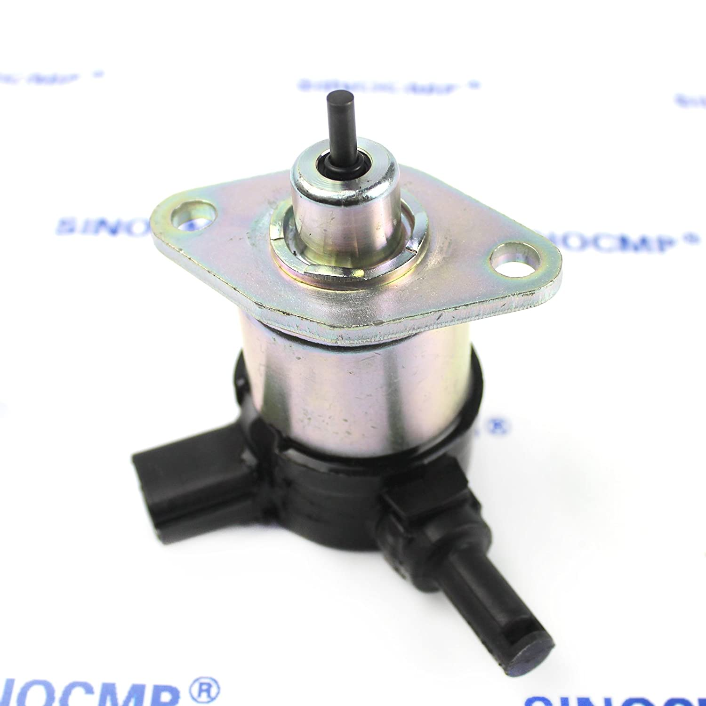 60010 17208 60015 12 V Stop Solenoid sinocmp cp-u0315 Fuel Shut ...