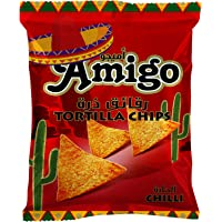 Amigo Tortilla  Chips Chilli - 250 gm