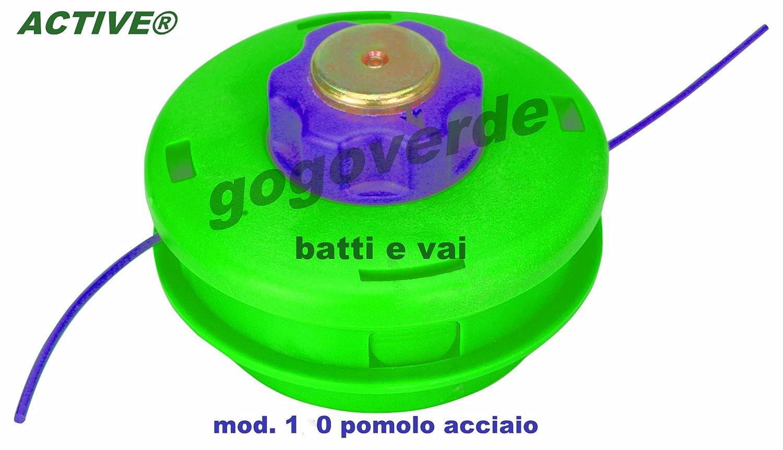 Active Cabezal para desbrozadora fabricado en acero. Se carga sin ...